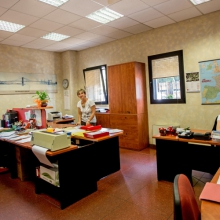 The administration office